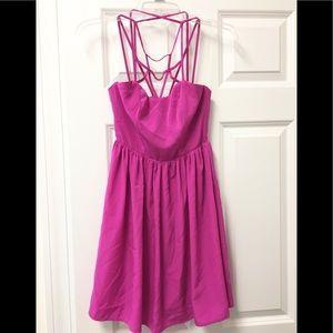 Gorgeous Solemio caged strappy dress 👗 💗!